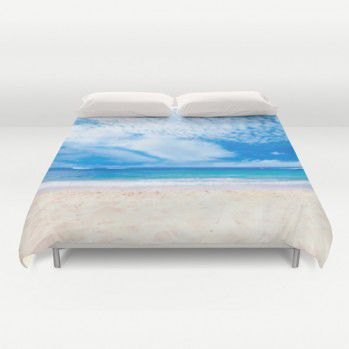 Hawaii beach duvet cover #duvetcover #Hawaii #beach #beachlovedecor