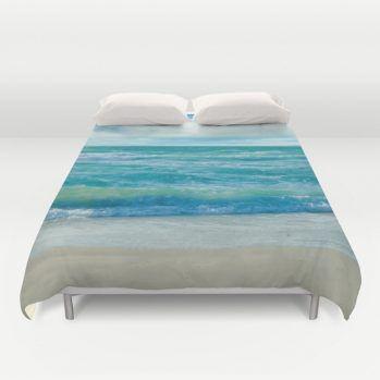 Miami ocean view duvet cover #miami #ocean #duvetcover #beachlovedecor