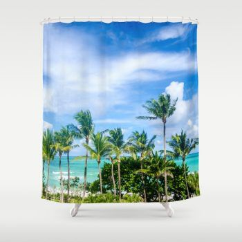 coconut-palm-tree-on-the-sandy-poipu-beach-in-hawaii-kauai-shower-curtains-1