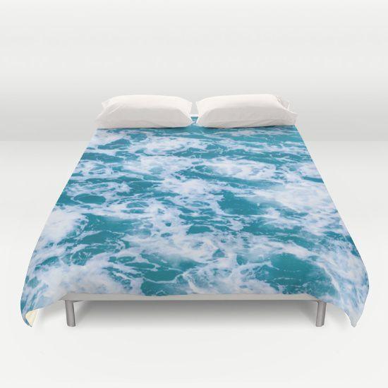 Blue Marble Ocean Water Duvet Cover Beachlovedecor Com