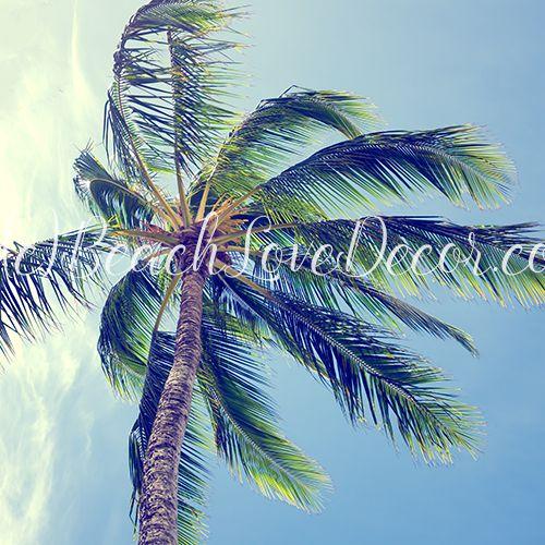 Palm Tree Retro Effect Duvet Cover 4 Sizes