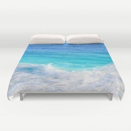 Teal Blue Ocean Water Duvet Cover Beachlovedecor Com