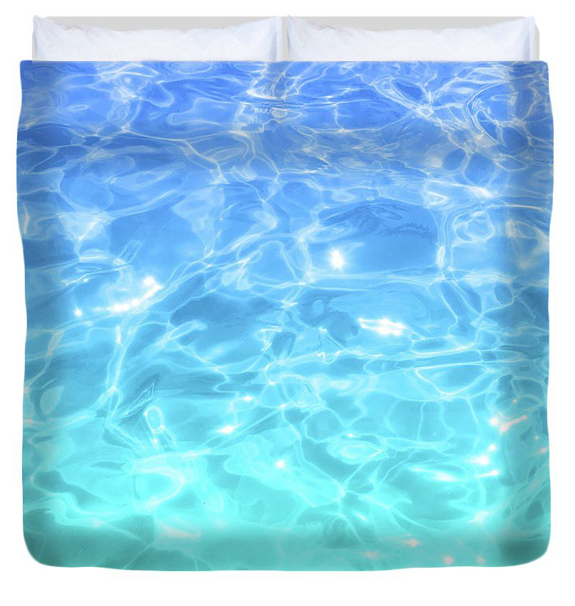 Blue Teal Pool Water Duvet Cover Beachlovedecor Com