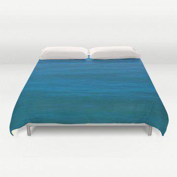 Deep turquoise ocean Duvet Cover (DTO1) #beachlovedecor #duvetcover #ocean