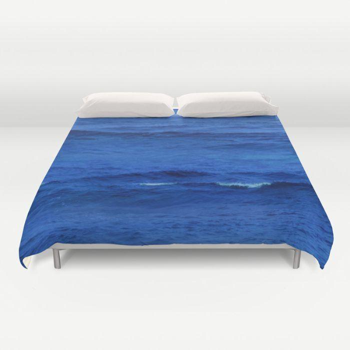 Deep Blue Ocean Water Duvet Cover Beachlovedecor Com