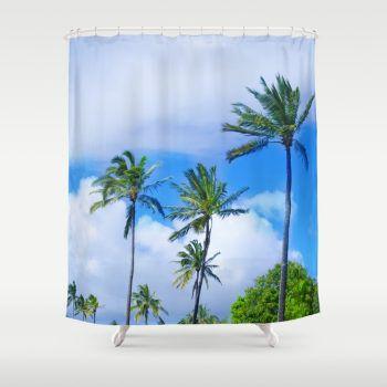 coconut-palm-tree-on-the-sandy-poipu-beach-in-hawaii-kauai-zgf-shower-curtains-1