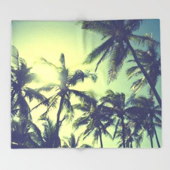 coconut-palm-tree-on-the-sandy-poipu-beach-in-hawaii-kauai-zgf-throw-blankets-10