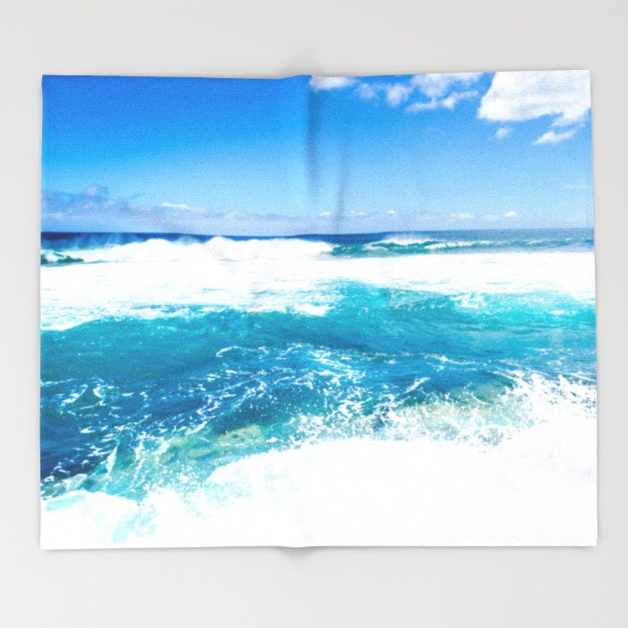Tropical Sea Fleece Throw Blanket Extra Soft And Warm 6