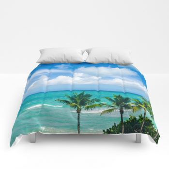 miami-palms-2-comforter-by-beachlovedecor