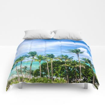 miami-palms-comforter-by-beachlovedecor