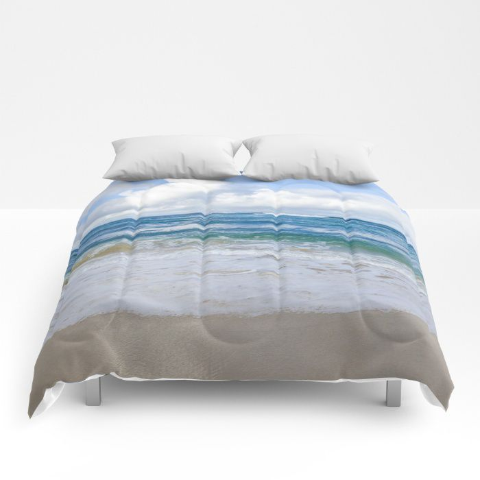 Hawaiian Ocean Comforter Sea Bedding Beach Coastal