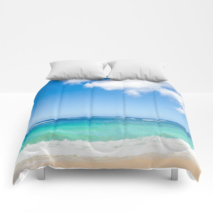 Hawaiian Sky Comforter, Ocean, Sea, Bedding, Beach