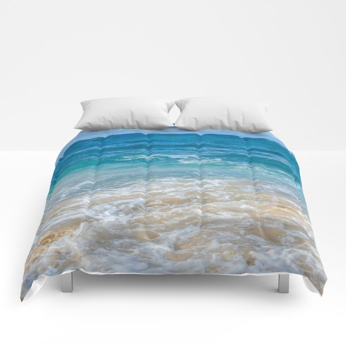 Deep Ocean Comforter Sea Bedding Beach Coastal Style