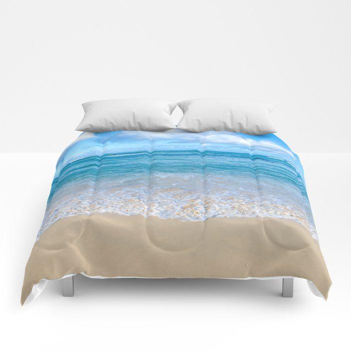 Beach Comforter Sea Bedding Coastal Style Full