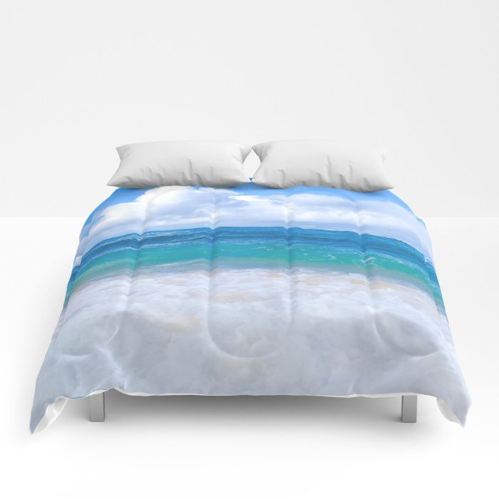 Ocean Comforter Sea Bedding Beach Coastal Style Full