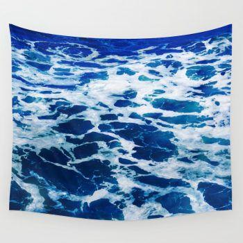 deep blue ocean surf