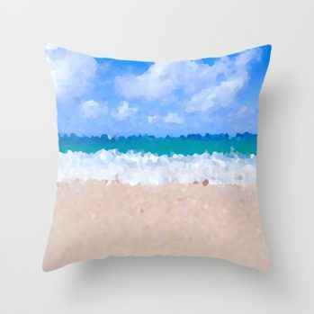 abstract beach-pillows