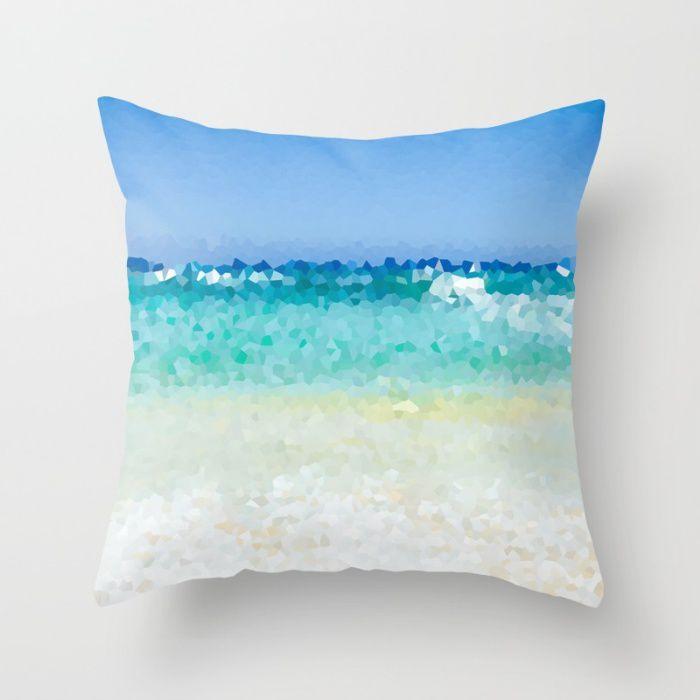 Abstract Ocean Pillows