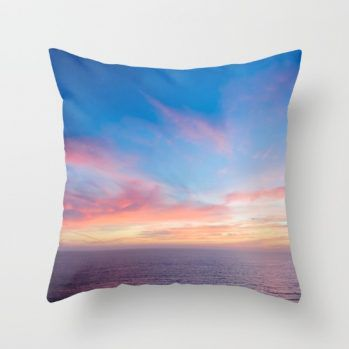 Malibu ocean sunset #ocean #sunset #pillow #beachlovedecor