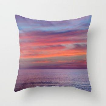 Malibu sunset #maibu #sunset #pillow #beachlovedecor