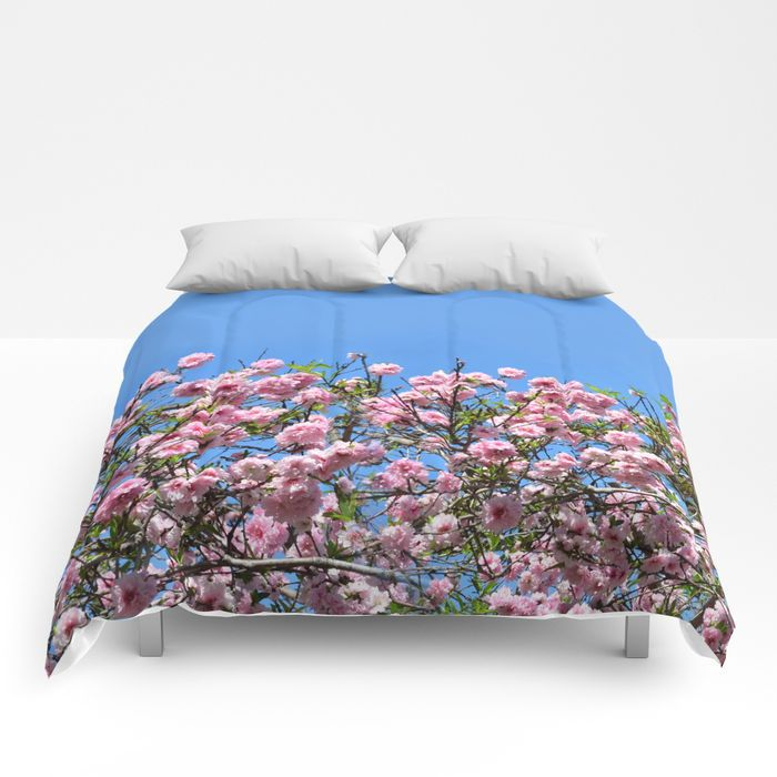 cherry blossom spring comforter