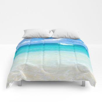 ocean comforter 17 by beachlovedecor