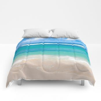 ocean comforter 18 by beachlovedecor