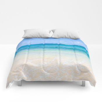 ocean comforter 39 by beachlovedecor