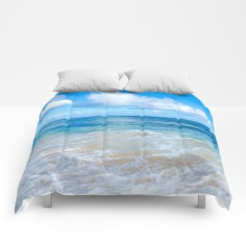 ocean comforter 46 by beachlovedecor