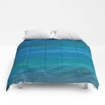 ocean comforter 52 by beachlovedecor