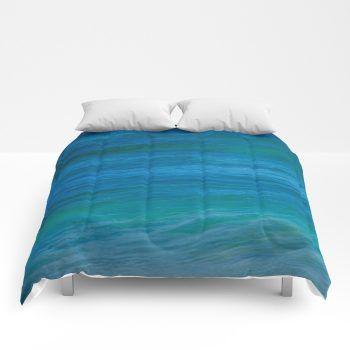 ocean comforter 52 by beachlovedecor