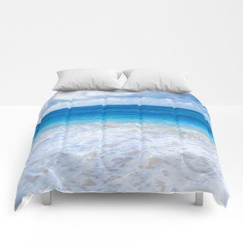 ocean comforter 54 by beachlovedecor