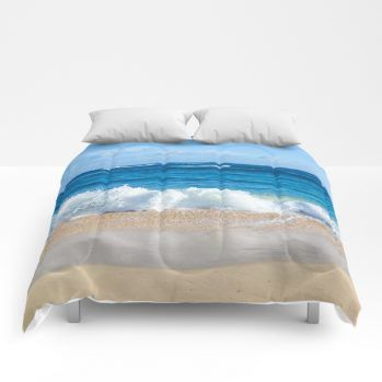 ocean comforter 55 by beachlovedecor