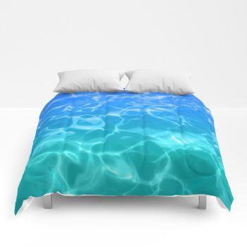 ocean comforter 58 by beachlovedecor