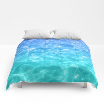 ocean comforter 60 by beachlovedecor