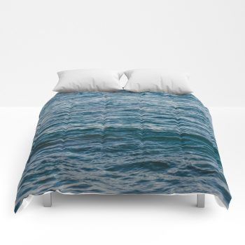 ocean comforter by beachlovedecor