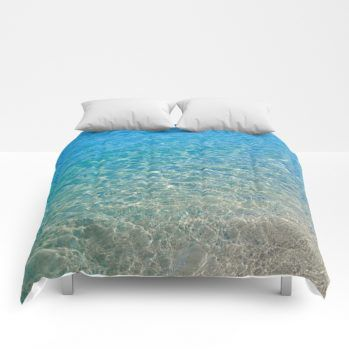 ocean comforter1 by beachlovedecor