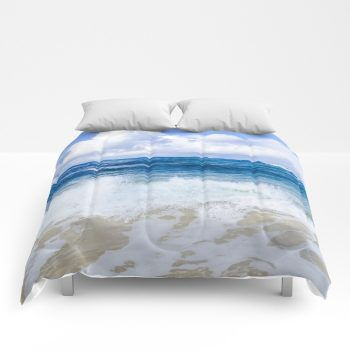 ocean comforter10 by beachlovedecor