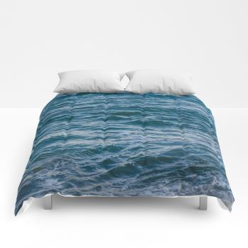 ocean comforter2 by beachlovedecor