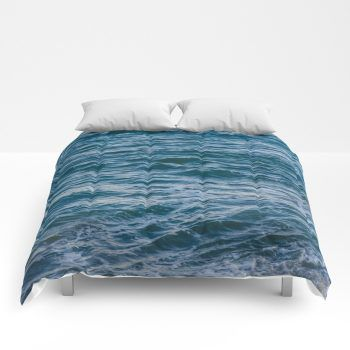 ocean comforter2 by beachlovedecor