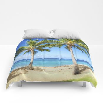 palms comforter 10 by beachlovedecor