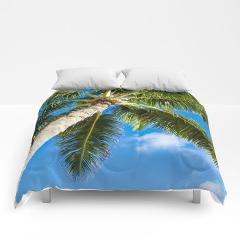 palms comforter 11 by beachlovedecor