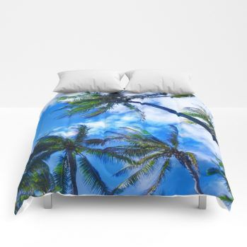 palms comforter 12 by beachlovedecor