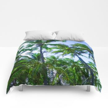 palms comforter 13 by beachlovedecor