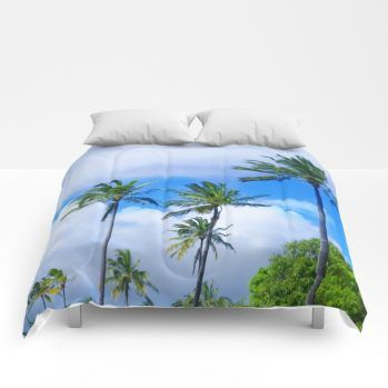 palms comforter 14 by beachlovedecor