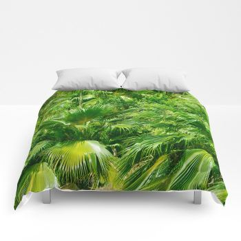 palms comforter 4 by beachlovedecor