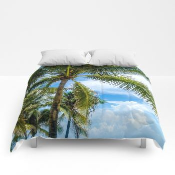 palms comforter 5 by beachlovedecor