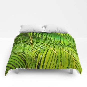palms comforter 7 by beachlovedecor