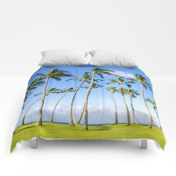 palms comforter 9 by beachlovedecor