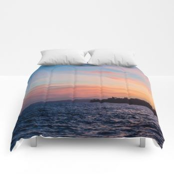 sunset 1 comforter by beachlovedecor